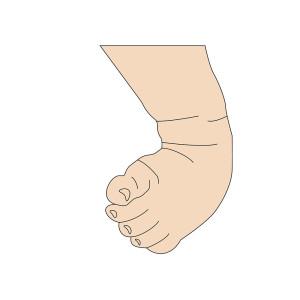 keine füße sondern hände